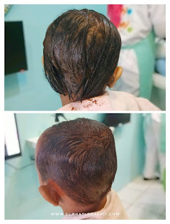Creambath di baby and mommy salon Depok