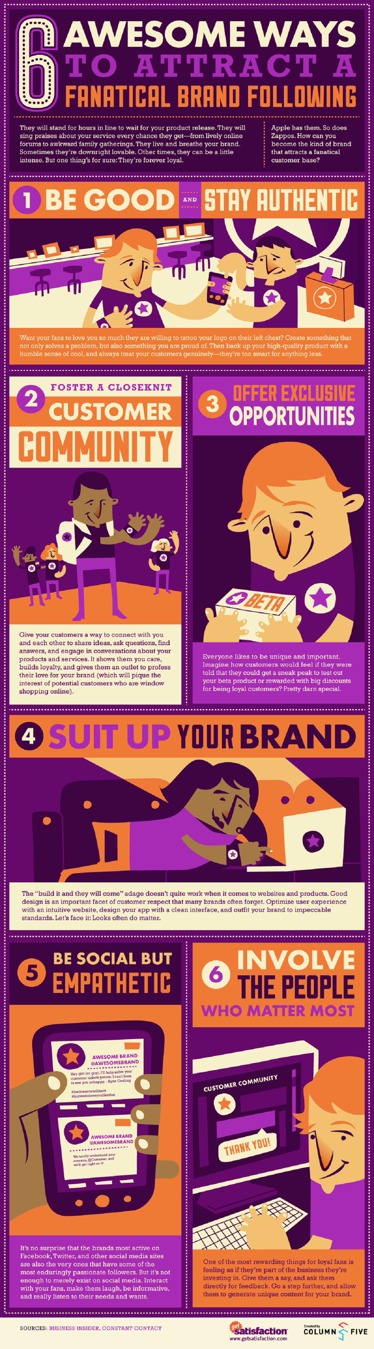 six-ways-to-attract-a-fanatical-brand-following-infographic