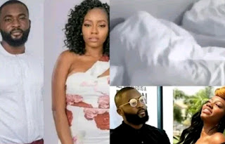 BBNaija 2019: Khafi And Gedoni Caught Having 'Sex' [Video]