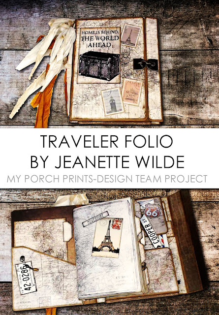 Travel Folio by Jeanette Wilde - My Porch Prints Design Team Project