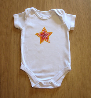 orange star onesie