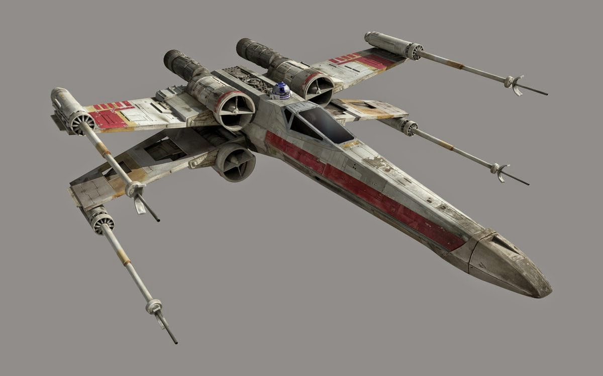 spacedock 2001 revell will release 42 cm x wing on october. Black Bedroom Furniture Sets. Home Design Ideas