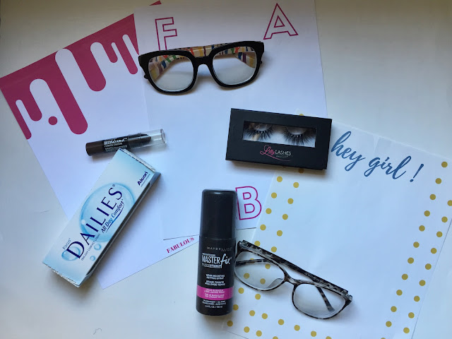 Eating Fabulously, Christopher Stewart, 6 Things Im Loving Right Now, stationary, Firmoo Optical, Maybelline, 1800 Contacts