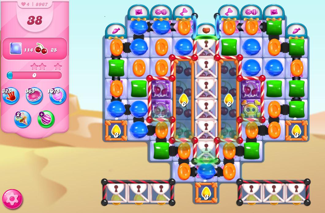 Candy Crush Saga level 8967