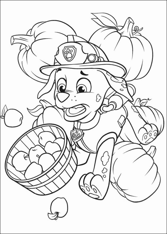 Paw patrol coloring pages 3