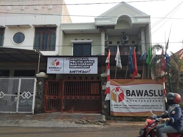 Kantor Bawaslu Kota Tangerang Mentereng, Laporan Nihil