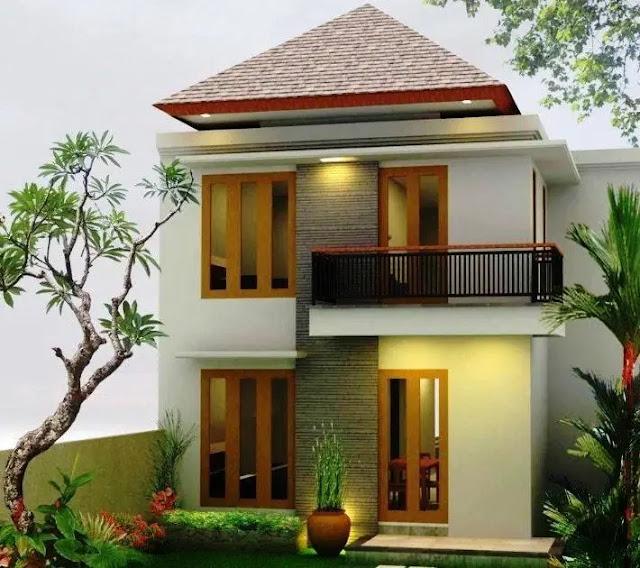 Desain Fasad Rumah Type 36 Dengan 2 Lantai