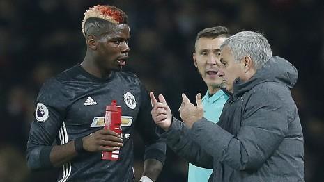 Pogba Lakukan Blunder kepada Jose Mourinho
