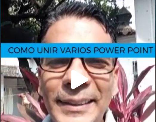 Como unir varias presentaciones de POWER POINT con diferente plantilla