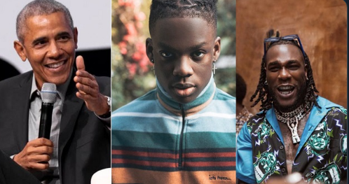 Burna Boy And Rema Makes Barack Obama's Favourite Songs Of 2019 | See Full List