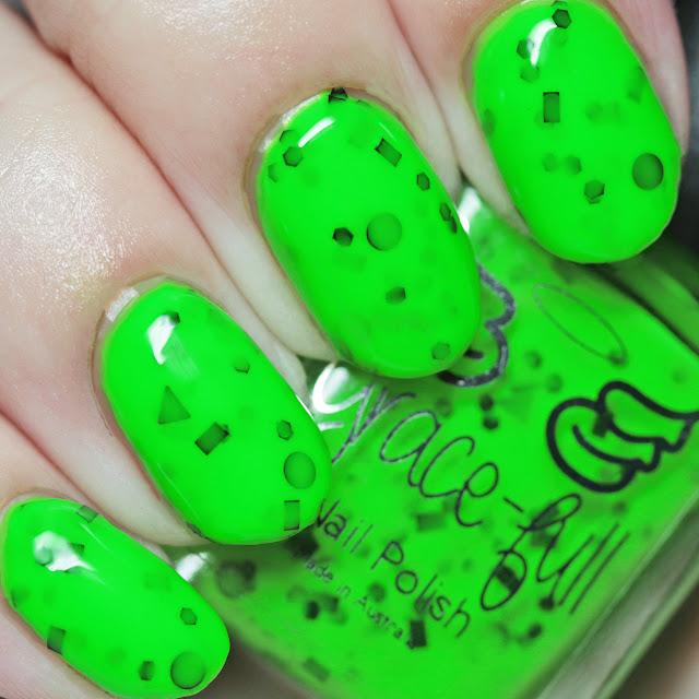 Grace-full Nail Polish Pond Scum Green