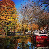 Virtual tour of Dublin: The Grand Canal in Autumn