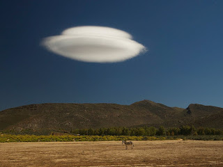 Lenticular Clouds that look like UFO's