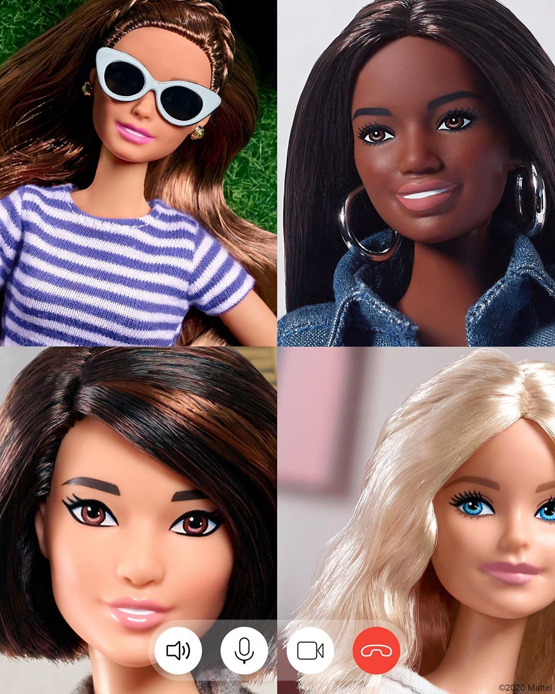 Barbie na quarentena