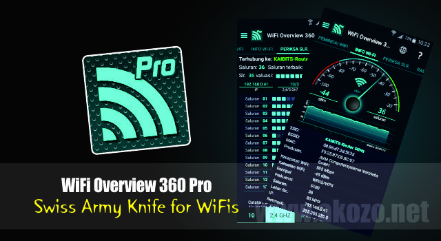 Download WiFi Overview 360 Pro Apk