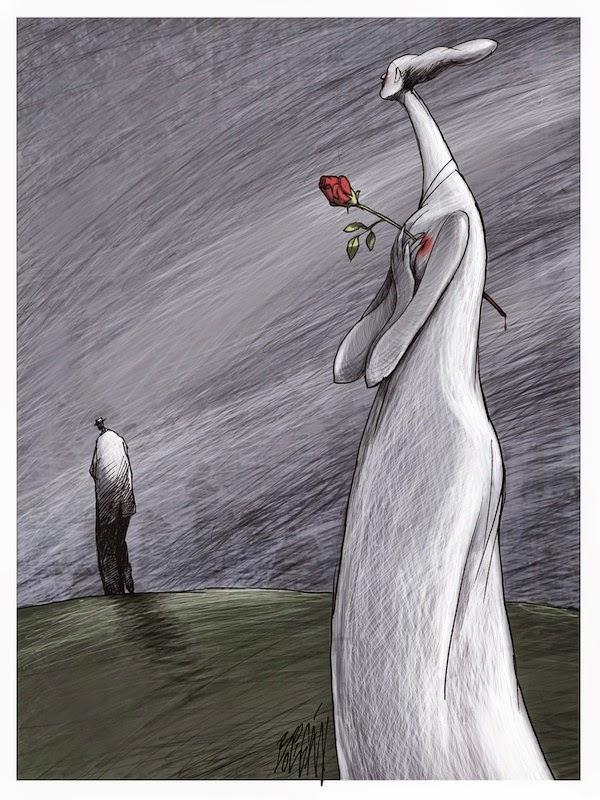 Angel Boligan - Sátira Surrealista | Coração Partido