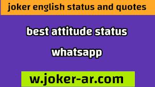 best attitude status 2021, attitude whatsapp status - joker english