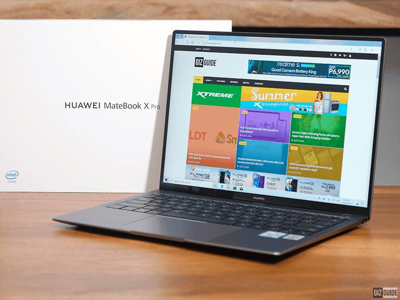 Huawei MateBook X Pro with box
