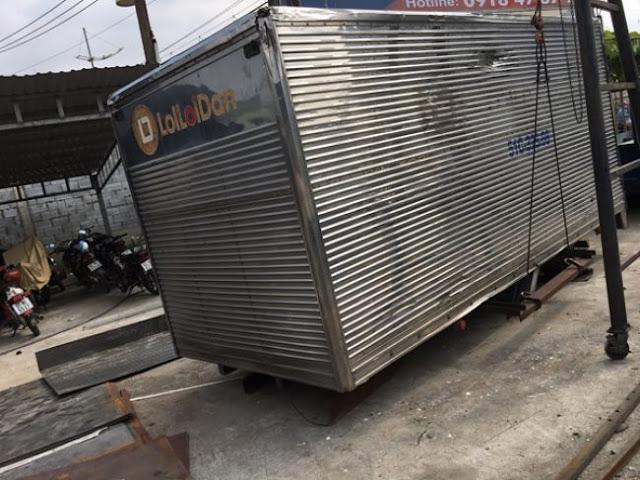 Mua bán thùng xe tải cũ