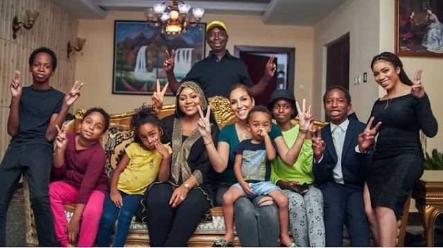 Ned Nwoko reveals why he doesn't show off his first four wives on social media