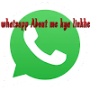 whatsapp me about me kya likhe