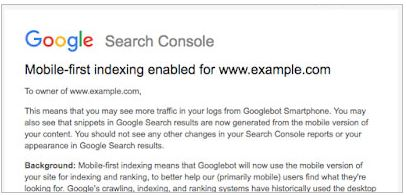 What Is Google's Mobile First Indexing & How It Impacts On Your Website SEO