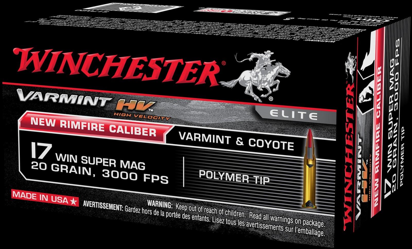 17 Winchester Super Magnum - Το Ισχυρότερο Περιφερειακής Πυροδότησης  Φυσίγγιο στο Κόσμο! 853cffc26f3