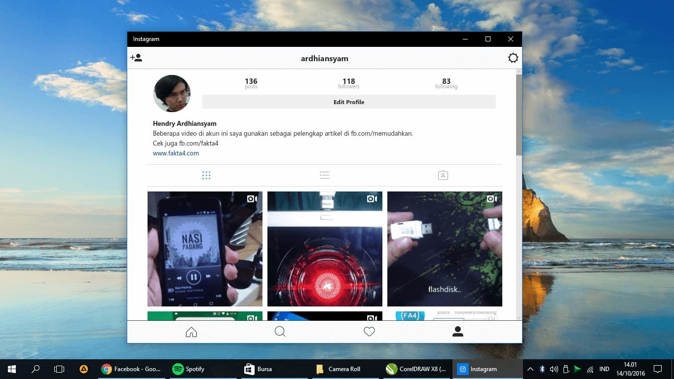 download instagram windows 10