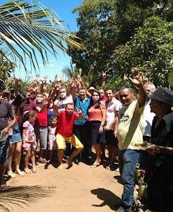 Ex-prefeito Salomão participa de almoço com amigos e apoiadores da família Paizin