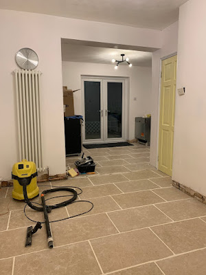 Dijon Limestone in Kitchen