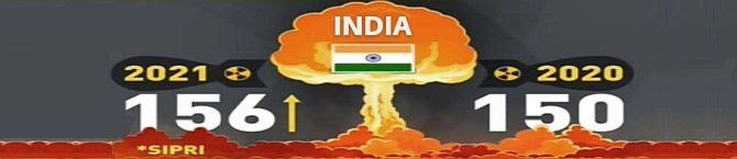 How India Stacks Up Against China, Pakistan In Terms of Nuclear Weapons