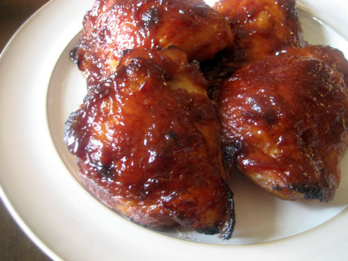 The Nummy Little Blog Oven Baked Bbq Chicken Thighs