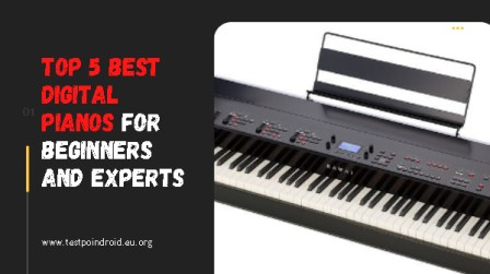 Top 5 Best Digital Pianos For Beginners And Experts
