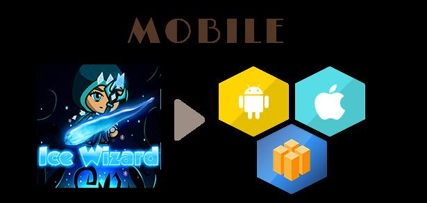 ice wizard Adventure (Admob+Android Studio) - 2