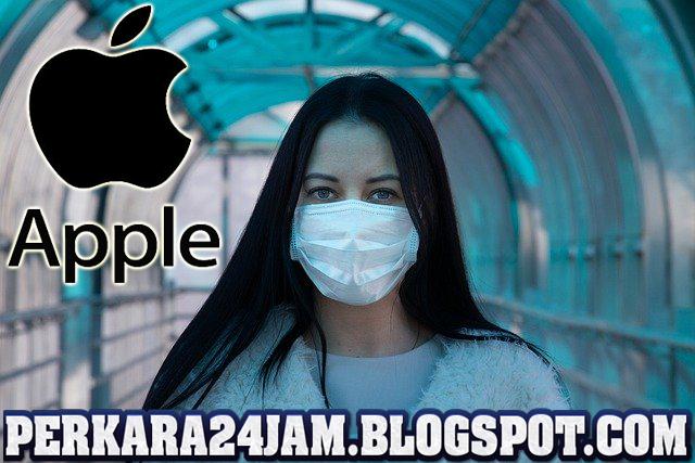Fendor Apple Sumbang 10 Juta Masker Untuk Negara Di AS Dan Eropa