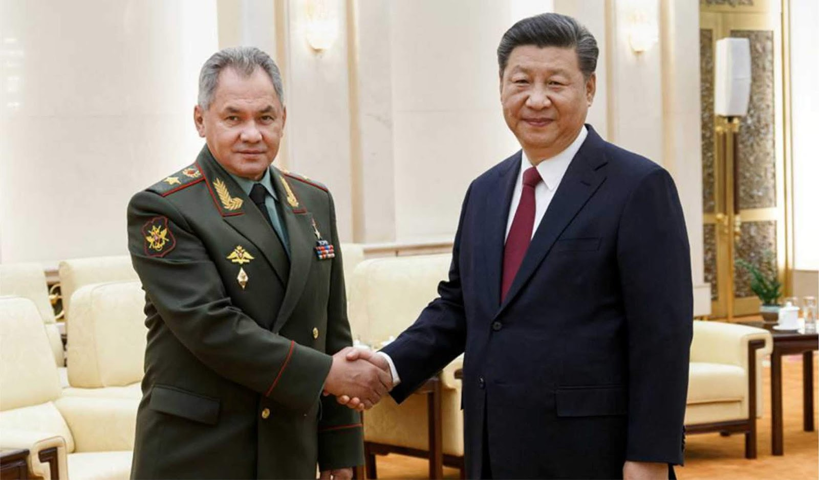 Rusia dan Cina sepakat untuk meningkatkan kontak dalam kerja sama militer