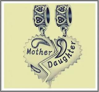 Pareri TALISMAN din argint Mama si Fiica norocos pentru familie si prieteni