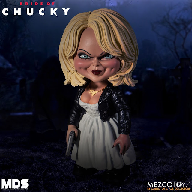 MEZCO Designer Series Bride of Chucky Tiffany 01