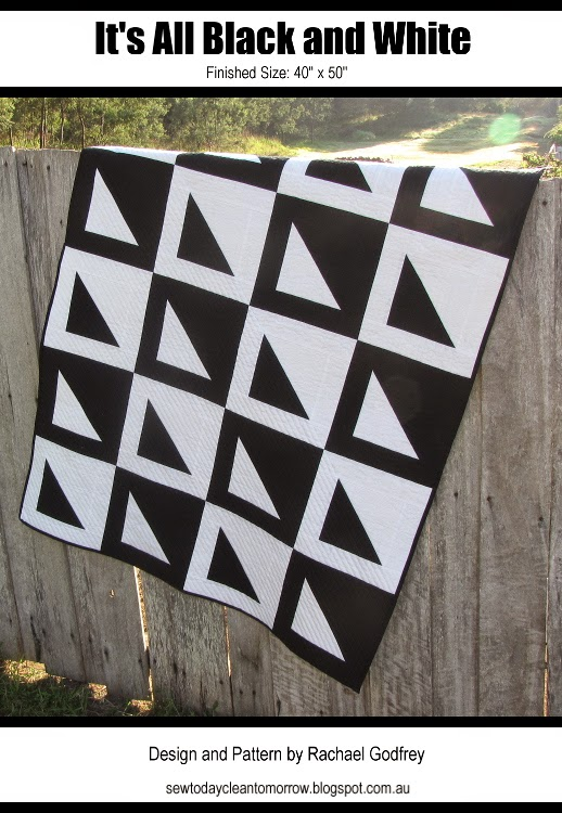 It's All Black and White Quilt Pattern