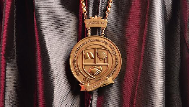 chancellor medallion over robe