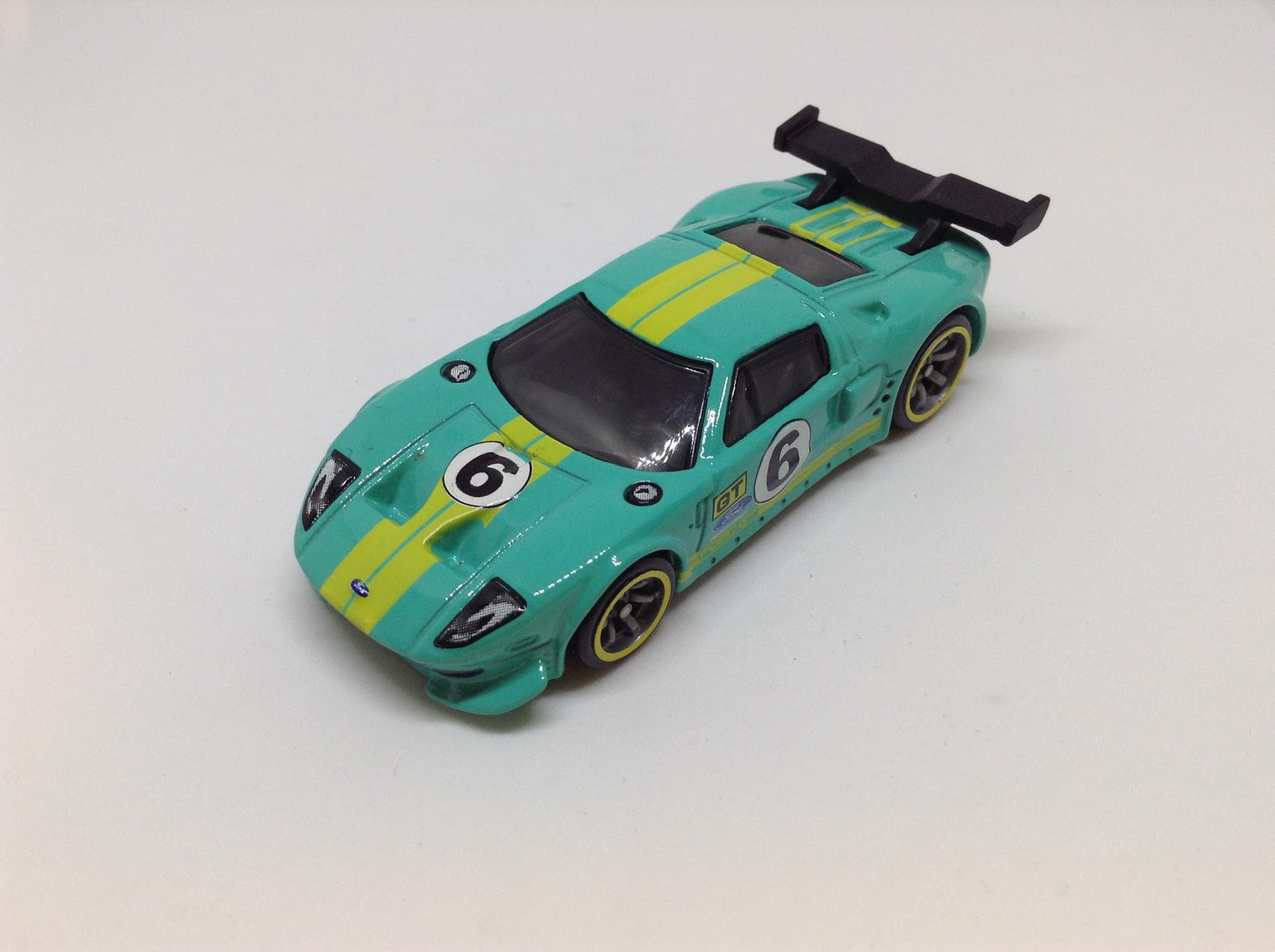 Ford Gt Lm  Speed Machines Teal Blue Version