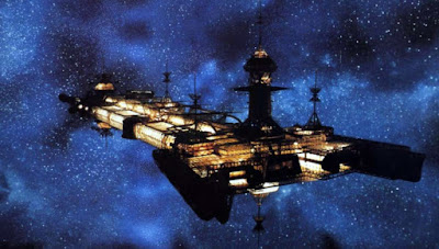The USS Cygnus from The Black Hole (1979)