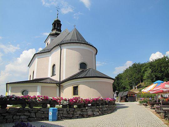 """Sanktuarium Matki Bożej Przyczyny Naszej Radości - """"Maria Śnieżna""""."""