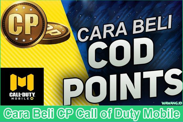 2 Cara Beli CP Call of Duty Mobile