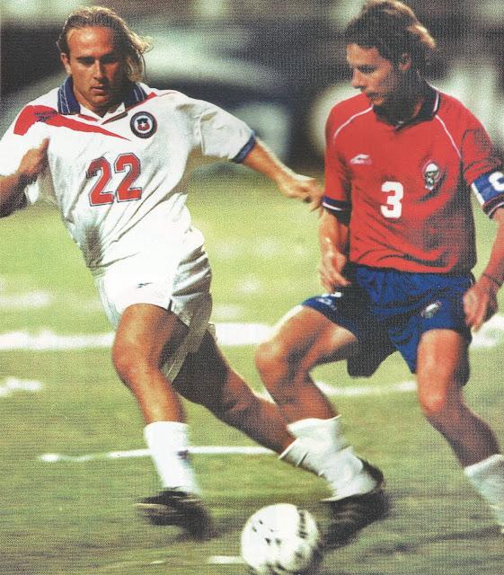 Costa Rica y Chile en partido amistoso, 2 de febrero de 2000