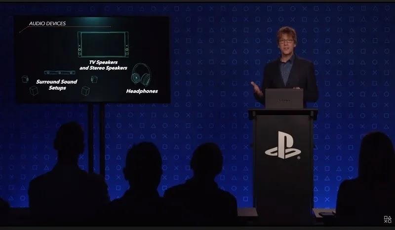 نقاش صوتي ثلاثي الأبعاد لنظام PS5