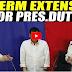 PINAKA MAINIT NA BALITA:TERMINO NI PRRD DAPAT MA-EXTEND PARA MASALBA ANG PILIPINAS! PANOORIN