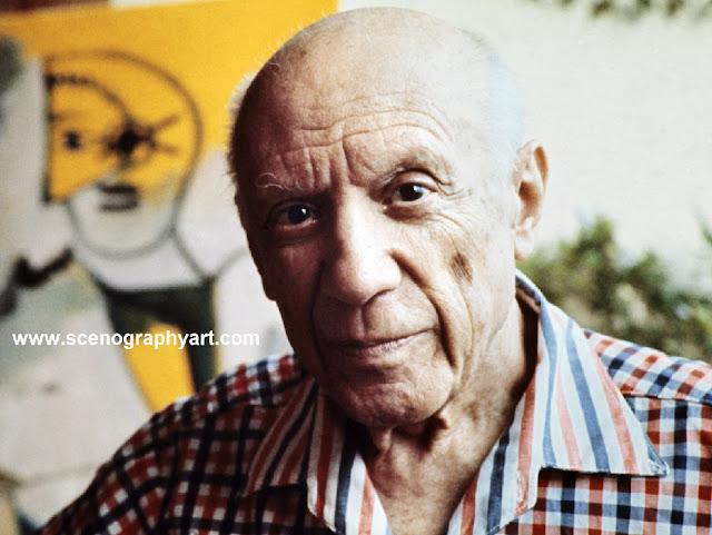 اقتباسات و أقوال الرسام و الفنان الاسباني بابلو بيكاسو لوحات رسمات