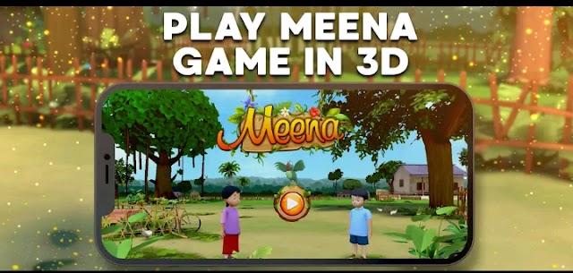 Children's eeina game is now in 3D version. UNICEF