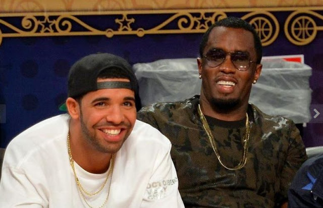 Diddy Celebrate With Drake's Virginia Black Whiskey